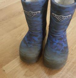 Χειμώνας μπότες για το αγόρι 27-28r πλοηγός