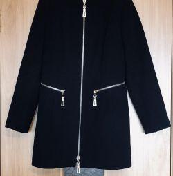 Συρόμενο παλτό, κασκόλ