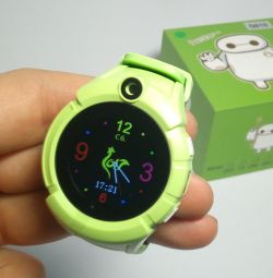 🔥 Kids GPS Watch Q610 Green with Flashlight New