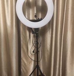 Кільцева лампа Селфі Лампа нова супер потужна 45