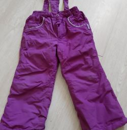 Pantaloni demi-sezon 98 dimensiune