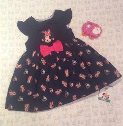 Φόρεμα Disney 3-6 μήνες.