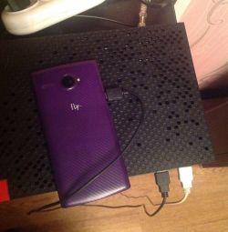 Carcasă de zbor telefonic închis violet fs501