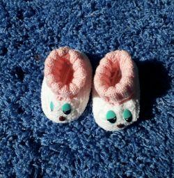 Papuci noi pentru papuci