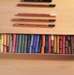 Art pastel 30 col., Creioane Rembrandt