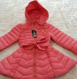 Quilted jacket for girls (new)