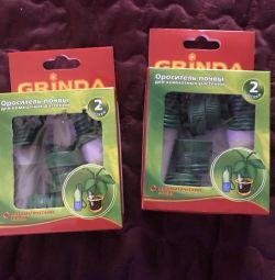 Sprinkler pentru sol pentru plante de interior grinda