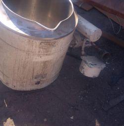 used stainless steel tank