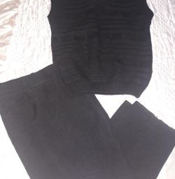 Trousers and waistcoat for a boy 1-3years old