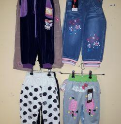 pantaloni pentru fete