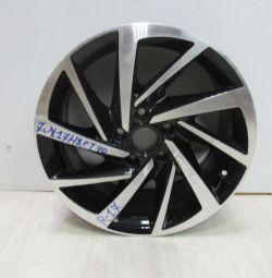 Cast disc 7JR17H2ET40 Volkswagen Tiguan 2 R17 oem 5na601025t (light scuffs) (cl-3)