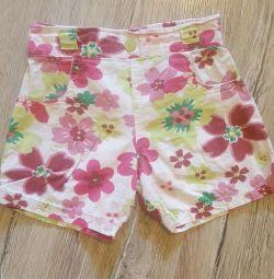 Summer shorts. Size 98.