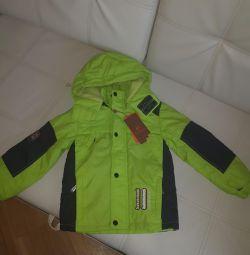 Demi-season jacket ύψος 92-104