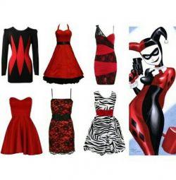 Нове червоно-чорне плаття