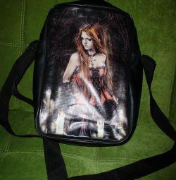 Gotik çanta, deri