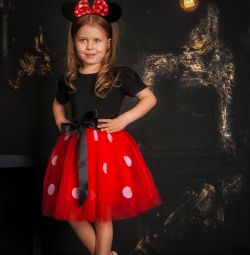 Dress + Headband Minnie Mouse