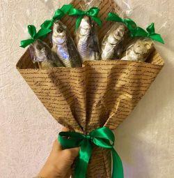 Подарок букет для мужчины на 23 февраля