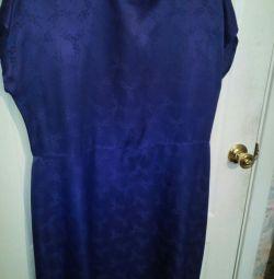 rochie natură mătase 50-52
