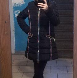 Χειμερινό μπουφάν μαύρο