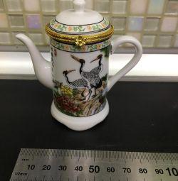 Сувенірний китайський чайник новий скринька