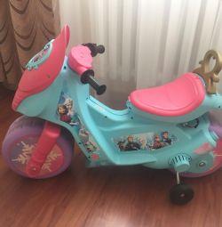 Електромобіль мотоцикл Frozen