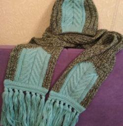 Новые шарф и шапочка