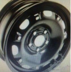 6Q0601027AC03C steel disc R14 Polo Fabia Rapid