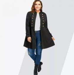 Jacket, tunic, trench p 54, 56, 58 new