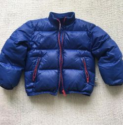 Ice iceberg baby jacket for a boy 4 years