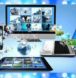Создание интернет-сайтов.