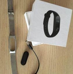 Xiaomi mi band 2 with bracelet