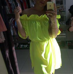 Платье летнее, L