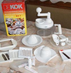 Kitchen processor Dekok UKA-1101