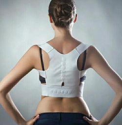 Corsete magnetice pentru corectorul posturii coloanei vertebrale