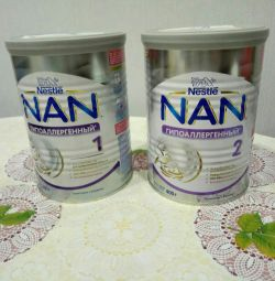 Nan hypoallergenic 1 and 2