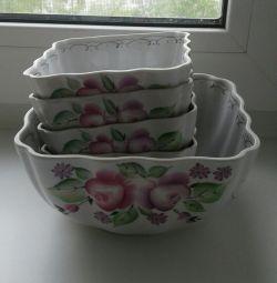 Набор посуды (фарфор)