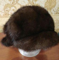 шапка норка