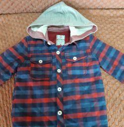 Модная куртка для мальчика на 1,5 (2года) 86-92см.