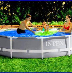 Round frame pool 366x76cm, Original 28710