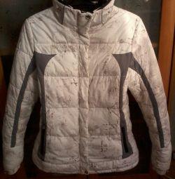 фирменная зимняя куртка, Ваккарда, 46-48 р., б/у