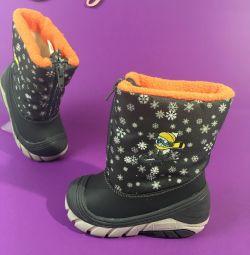 Νέες χειμερινές μπότες χειμώνα r19-24