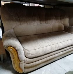 Retractable sofa