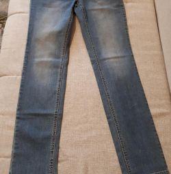 Jeans curcubeu