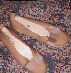 Pantofi din piele 37. Kristina și Milan