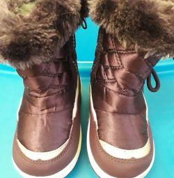 Зимові чобітки 22р-р
