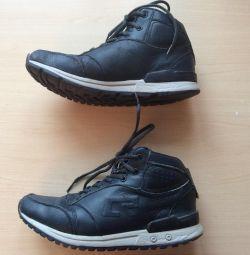 Ботинки зимние для мальчика нат. кожа, шерсть р 39