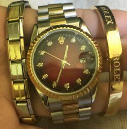 Watch + 2 bracelets