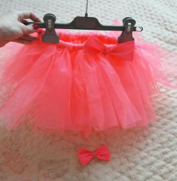 Skirt and hairpin