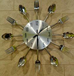 Ceas de perete pentru bucătărie