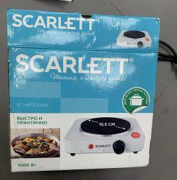 Новая электрическая плитка Scarlett